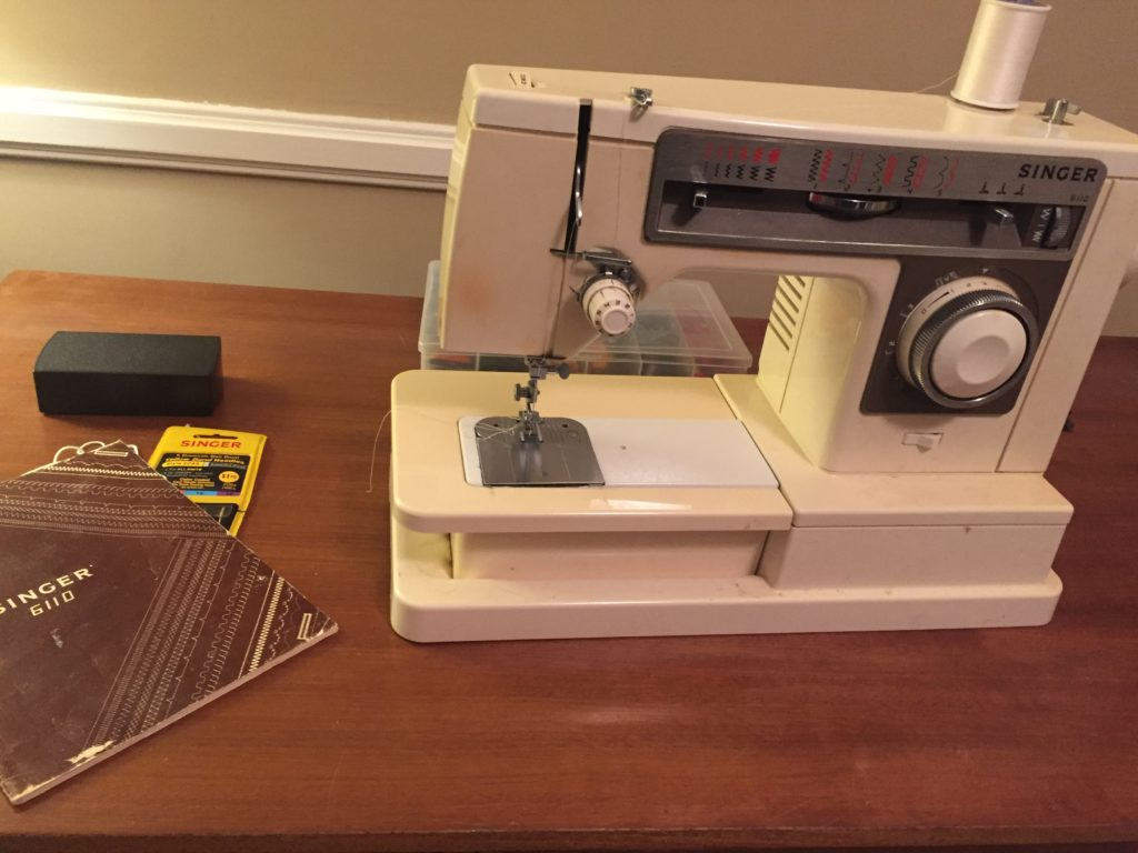 My mother's sewing machine